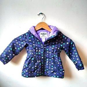 18 Month Girl OshGosh Polka Dot Puffer Jacket